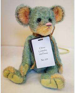 Charlie Bears Chives Mohair Mouse 28 cm SJ6040C