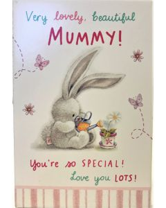 Very lovely, beautiful Mummy! hanging plaque by Bebunni BEB142