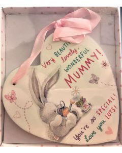 plaque very beautiful lovely wonderful mummy! bebunni beb112
