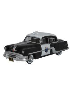 Oxford Diecast California Highway Patrol Pontiac Chieftain 4 Door 1954 87PC54003