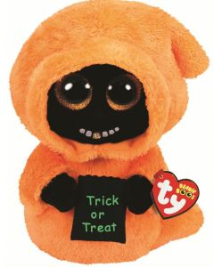 TY Grinner Orange Ghoul Halloween Medium Beanie Boo Limited Edition 36411