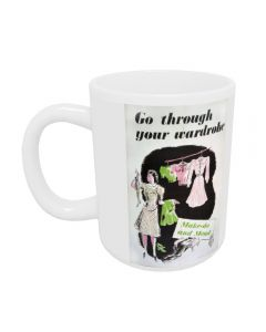 'go through your wardrobe' Mug | Imperial War Museums IWM4773MUG