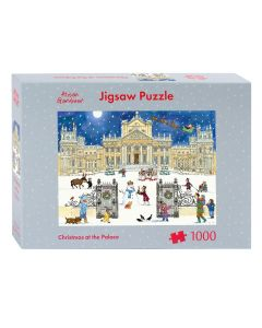 Christmas at the Palace 1000 piece Jigsaw Puzzle by Alison Gardiner JIGC6