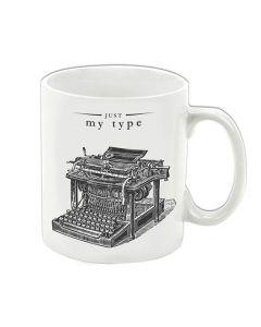 25676 'Just My Type' Porcelain Mug