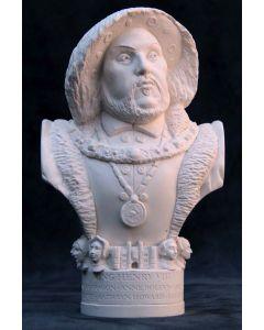 King Henry VIII Plaster Bust 13cm