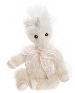 Charlie Bears Little Gem Minimo Unicorn Mohair MM206069A