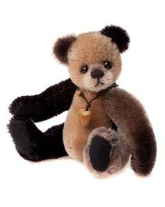 Loafer Mohair Teddy Bear Keyring by Charlie Bears CBK635298A
