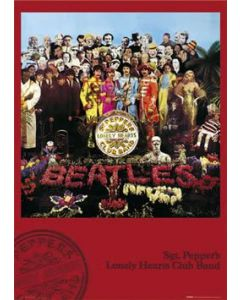 The Beatles Sergeant Pepper's Lonely Hearts Club Band Poster LP0905
