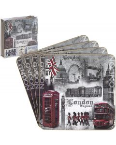 London Landmarks Coasters The Leonardo Collection Set of 4 LP16582