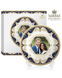 LP18077 Royal Wedding China Plate 8""