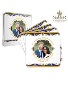 Royal Wedding Coasters set of 4 by Elgate LP18078