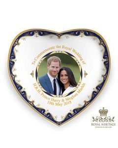LP18086 Royal Wedding China Heart Dish