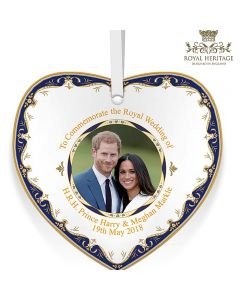 LP18087 Royal Wedding China Heart Plaque