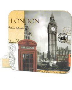 London Coasters Set of 4 The Leonardo Collection  LP19985