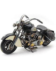 Motorbike Black Vintage Tinplate Model Lesser & Pavey LP42173