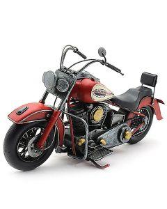Motorbike Red Vintage Tinplate Model Lesser & Pavey LP42174
