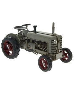 Tractor Grey Vintage Tinplate Model Lesser & Pavey LP42177