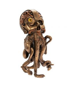 Steampunk Octopus Bronzed Figure by Leonardo LP45785
