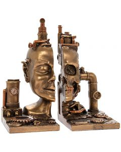 steampunk-skull-bronzed-bookends-by-leonardo-lp45786