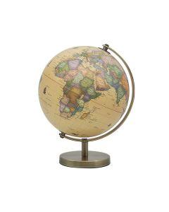 Vintage World Globe on stand 19.5cm