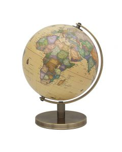 Vintage World Globe on stand 27cm