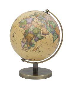 Vintage World Globe on stand 34cm by Leonardo LP46120
