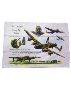 Lancaster Bomber Tea Towel by Little Snoring LSCTT002LANC
