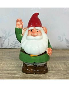 Gnome Sweet Gnome Ceramic Money Bank by Puckator MB233