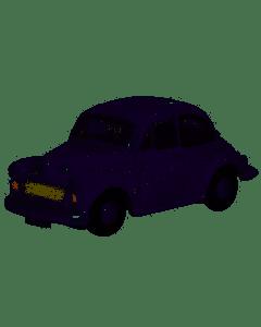 Oxford Diecast Morris Minor Saloon Lilac NMOS001