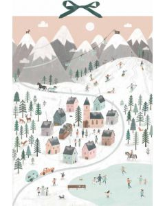 Coppenrath Mountain Village Traditional Advent Calendar 94961