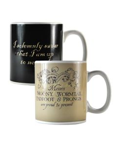Harry Potter Heat Changing Mug Marauders Map MUGBHP02 by Half Moon Bay