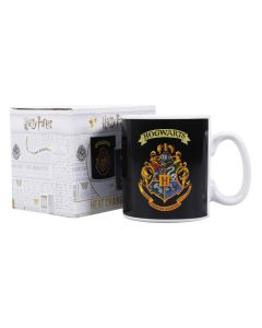 Harry Potter Heat Changing Mug Hogwarts Crest MUGBHP36 by Half Moon Bay