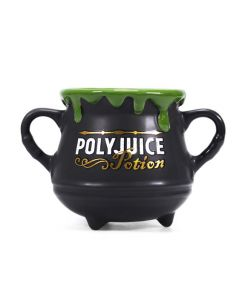 Harry Potter Mini Cauldron Mug Polyjuice Potion MUGCHP09 by Half Moon Bay