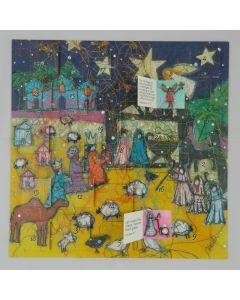 Swiss Kiss Nativity Night Advent Calendar