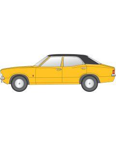 NCOR3002 Cortina MkIII Daytona Yellow by Oxford Dietcast