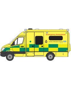 NMA002 Mercedes Ambulance London by Oxford Diecast