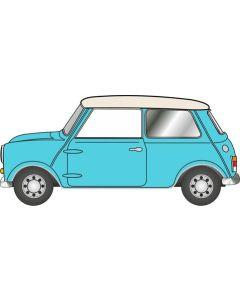 NMN008 Mini Surf Blue/Old English White