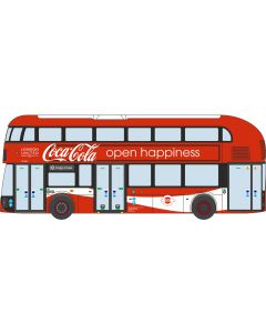 NNR004CC New Routemaster London United / Coca Cola  by Oxford Diecast