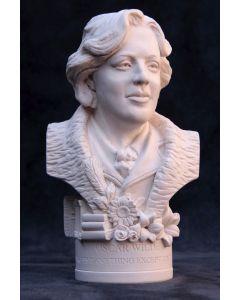 Oscar Wilde Plaster Bust 12cm