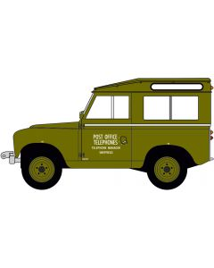 43LR2S003 Land Rover Series II SWB Hard Back Post Office Telephones