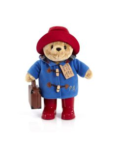 PA1490 Paddington Bear with Boots and Suitcase by Rainbow Designs