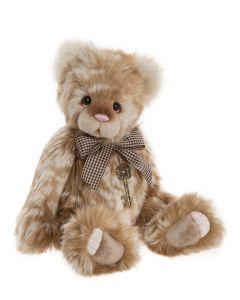CB202008B Peach Cobbler Plush Teddy Bear by Charlie Bears