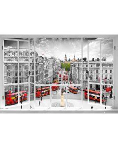 London Window Art Poster PH0454