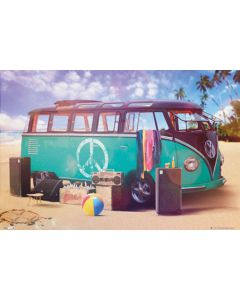 VW Camper Party Maxi Poster by GB Eye PH0482