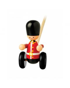 Soldier Push Along Toy   Orange Tree Toys OTT02650