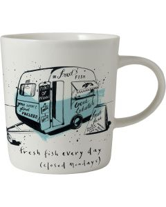 Fish & Chip Van Mug | Ruth Jackson RLJ90LB