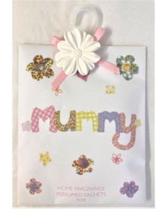 "home fragrance rose perfumed sachets ""mummy"" by abigail lp21458"