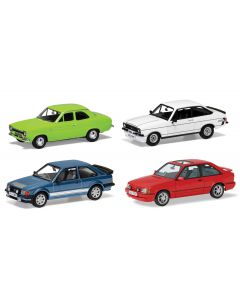 Corgi Ford Escort RS Collection, Ford's RS Escorts, Four Decades of Success RS00001