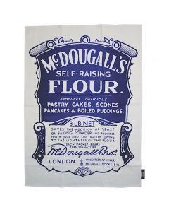 TWLTPR01 McDougall's Self Raising Flour Tea Towel Retro style