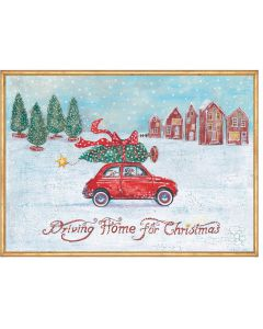 Coppenrath Driving Home for Christmas Large Wall Advent Calendar 94538